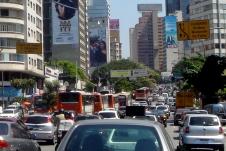 Stau in Sao Paulo