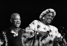 Miriam Makeba und Dizzy Gillespie, 1991