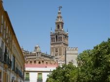 La Giralda (Turm der Kathedrale in Sevilla)