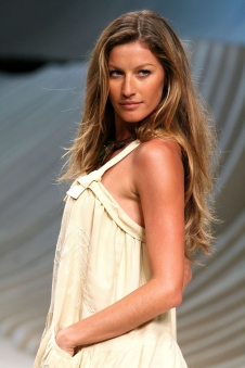 Gisele Bündchen bei der Fashion Rio Verão 2007