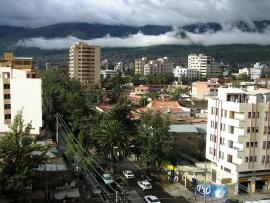 Cochabamba: Panorama Av Ayacucho