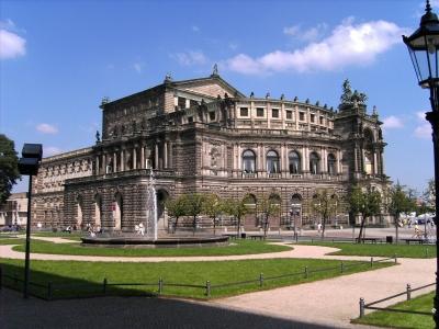 Dresden, Semperoper (August 2005)