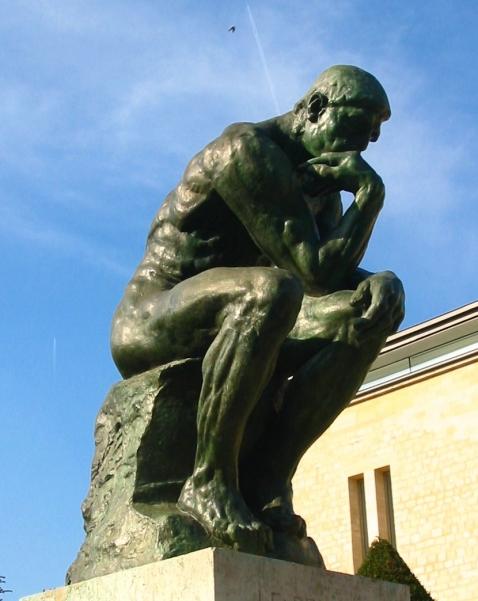 Der Denker (1880-1882), Musée Rodin, Paris
