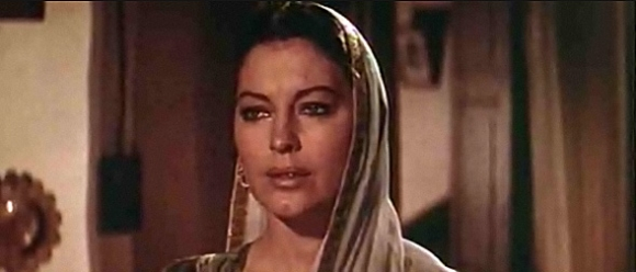 "Ava Gardner, 1956 in ""Bhowani Junction"""