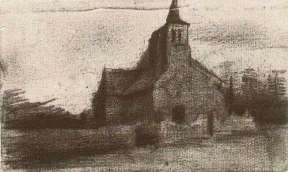 Martinuskerk_Tongelre_Vincent_van_Gogh_JH640_feb_1885