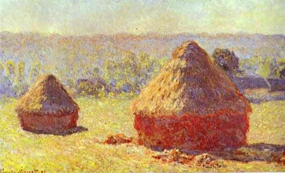 Claude Monet: Haystack. End of the Summer (1891)