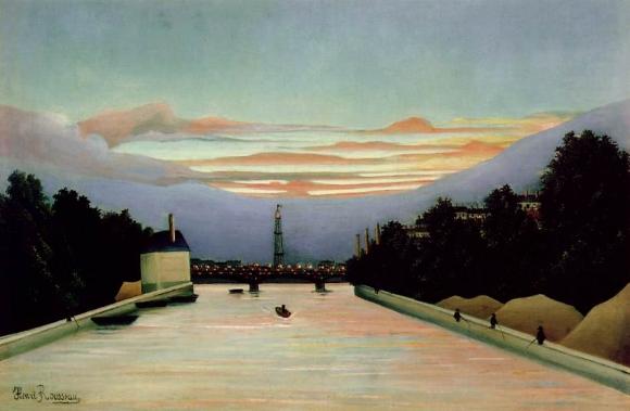 Henri Rousseau: La tour Eiffel (1898)