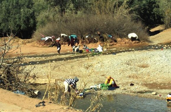 Atlas, Morocco, Dades Valley, Dades river