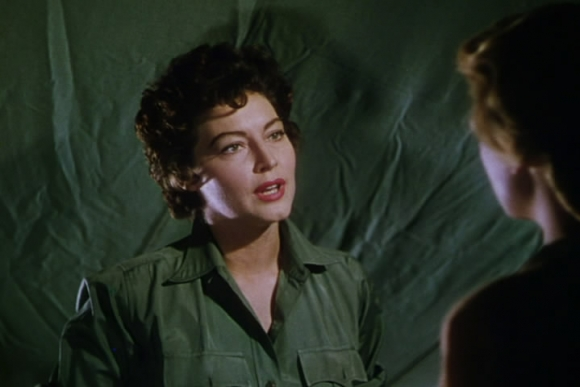 Ava Gardner, 1953 im Film Mogambo