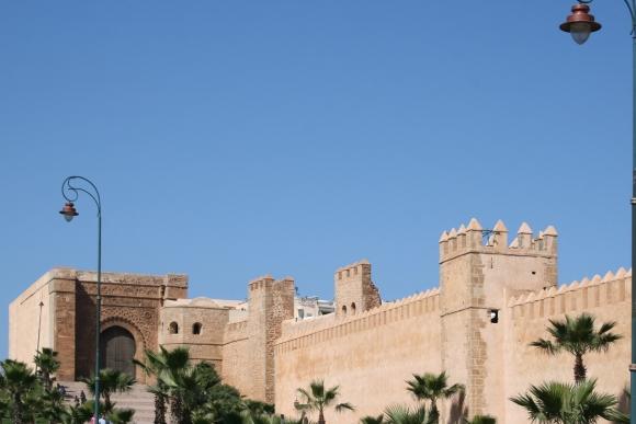 Rabat (Marokko): Kasbah Oudaya (Oudaïa-Kasbah)