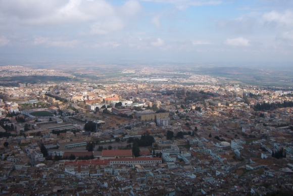 Tlemcen: Aufnahme vom Plateau Lalla Setti