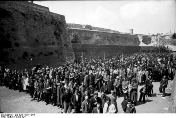 Belgrad, Erfassung von Juden (April 1941)