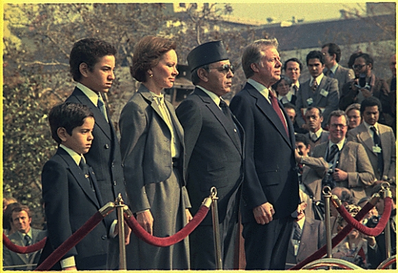 Hassan II. mit Jimmi Carter (14 November 1978)