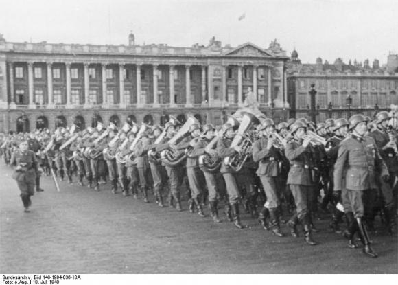 Wehrmacht-Konzert auf dem Place de la Concorde, Paris (10. Juli 1940)