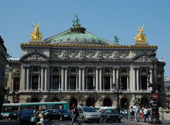 Facade opera Garnier