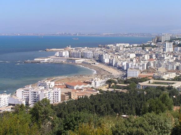 Algiers Küste, Aussicht aus Notre-Dame d´Afrique