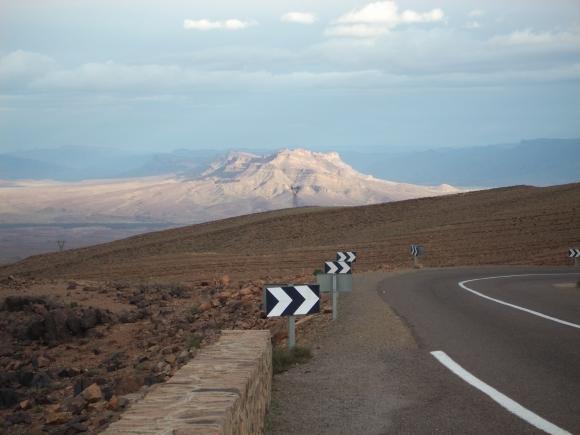 Djebel Kissane, nahe der Stadt agdz