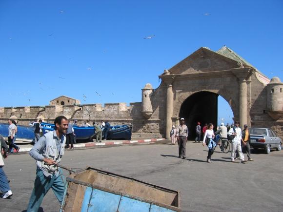 Essaouira, am Hafen.