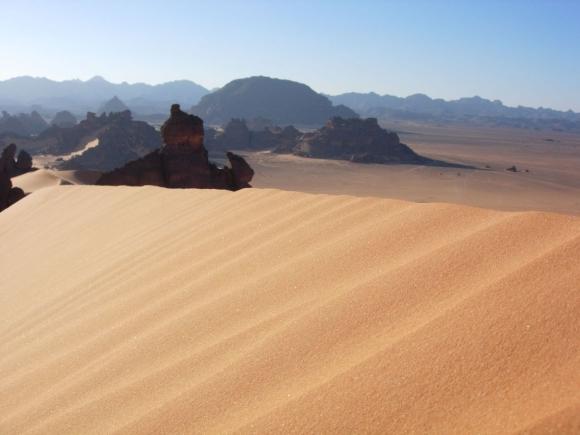 Libysche Wüste, im Südosten Libyens.