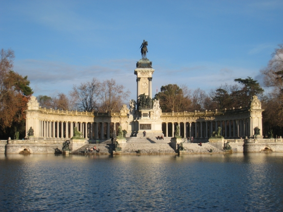Monument to Alfonso XII of Spain, Madrid - general view 1