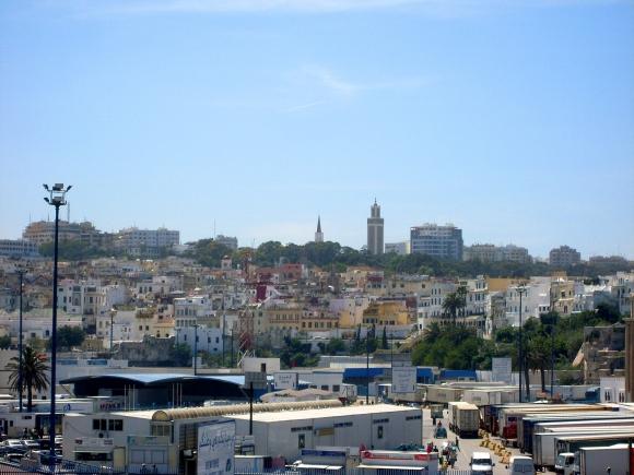Tanger: Panorama der Stadt im Nordwesten Marokkos