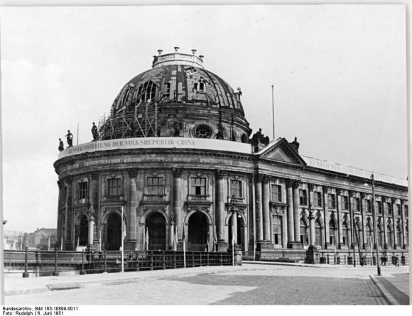 Berlin, Bodemuseum, Restaurierung (6 June 1951)