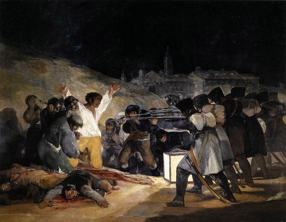 Erschießung der Aufständischen am 3. Mai 1808 in Madrid