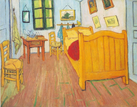 Vincents Schlafzimmer in Arles, 1888