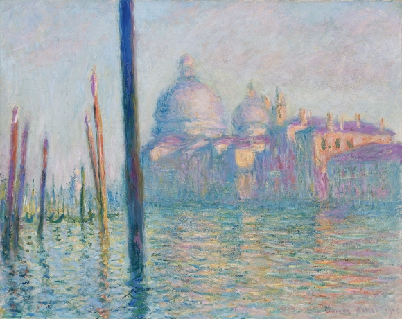 Claude_Monet: Canal Grande, Venedig (1908)