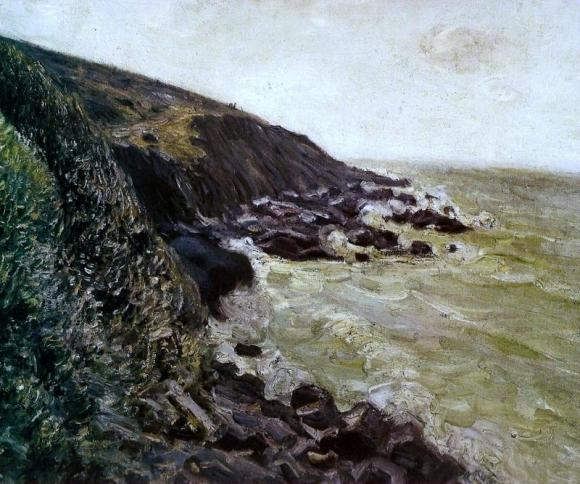 Alfred Sisley: Ventania (High wind), 1897