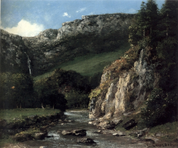Courbet_-_Stream_in_the_Jura_Mountains_(The_Torrent),_oil_on_canves,_1872-3