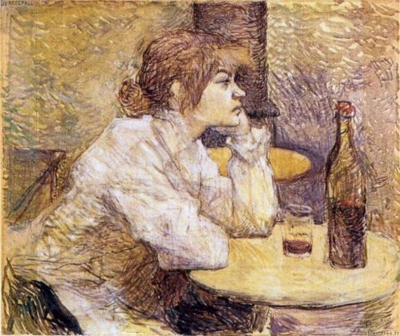 Portrait de Suzanne Valadon par Henri de Toulouse-Lautrec