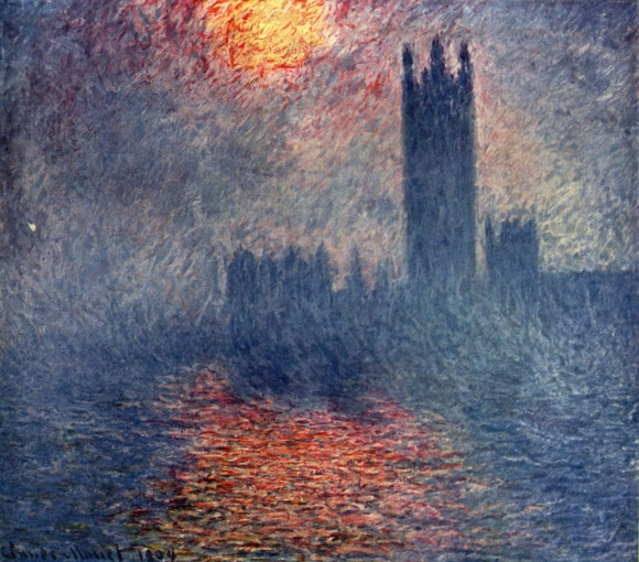 Claude Monet: Das Parlament von London (1904)