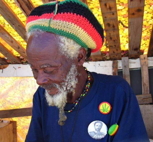 Rasta Man auf Barbados