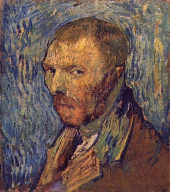 Vincent van Gogh: Selbstporträt, 1889 (in Saint-Rémy)
