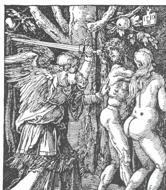 Albrecht Dürer: Die Vertreibung aus dem Paradies