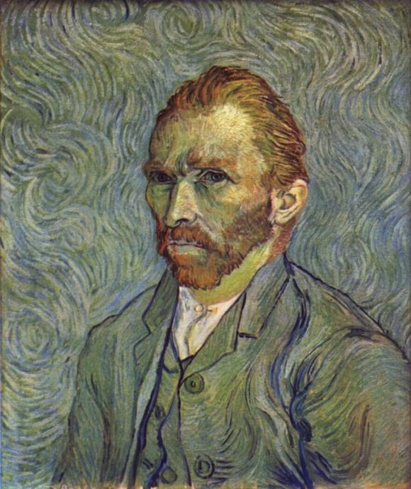 Vincent van Gogh: Selbstportrait (1889)
