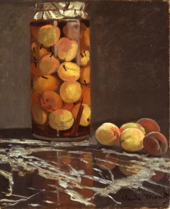 Claude Monet: Das Pfirsichglas (1866)