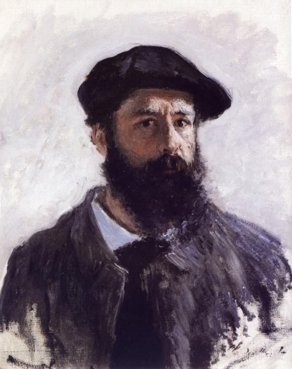 Claude Monet: Selbstportrait (1886)