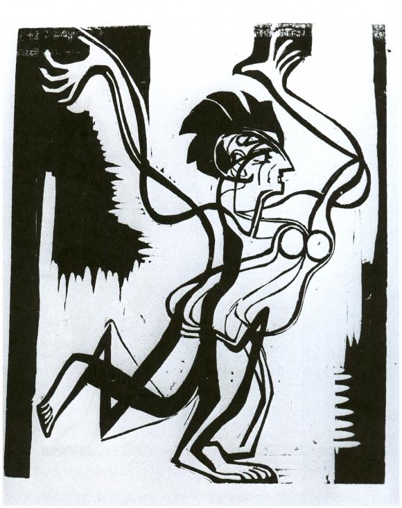 Ernst Ludwig Kirchner: Palucca (1930)