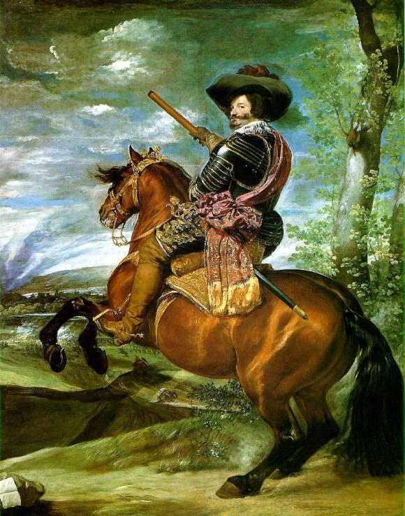 Conde Duque de Olivares zu Pferde