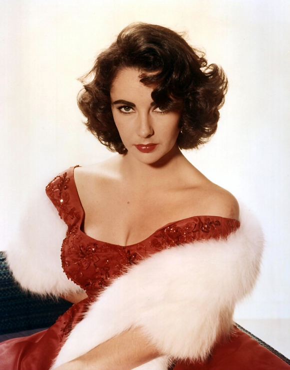 Studio publicity portrait of the American actress Elizabeth Taylor