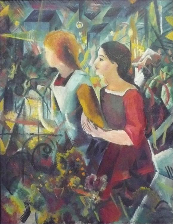 August_Macke-Zwei_Maedchen-1913