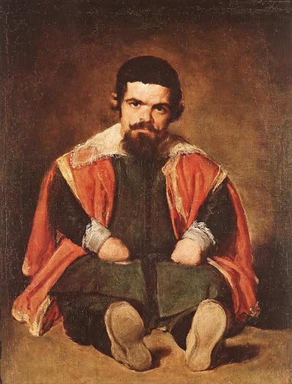 Der Hofnarr Sebastián de Morra