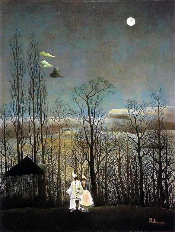 Henri Rousseau: Une soirée au carnaval (1886)
