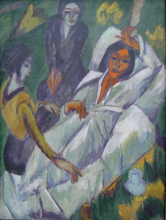 Ernst_Ludwig_Kirchner_Frauen_beim_Tee_1914-1