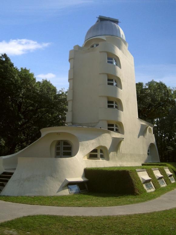 Einsteinturm: Front