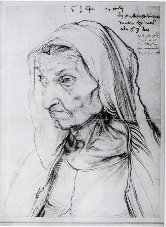 Abrecht Dürer: Bildnis der Mutter