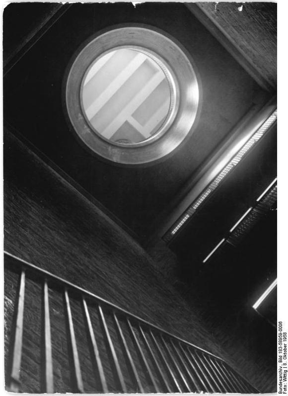 Bundesarchiv Bild 183-58959-0006, Gedenkstätte Buchenwald, Glockenturm, Innenansicht