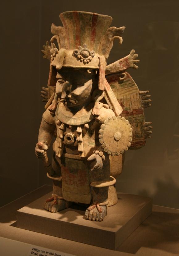 Regengott der maya (Chac)